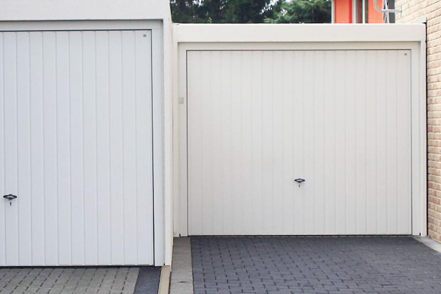 Passgenauer Garageneinsatz an Baugrenzen