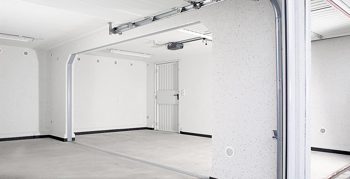 Betonfertiggaragen sind belastbar und flexibel