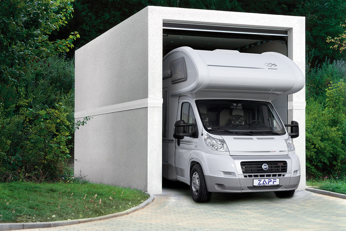 Großraumgaragen für Wohnmobile