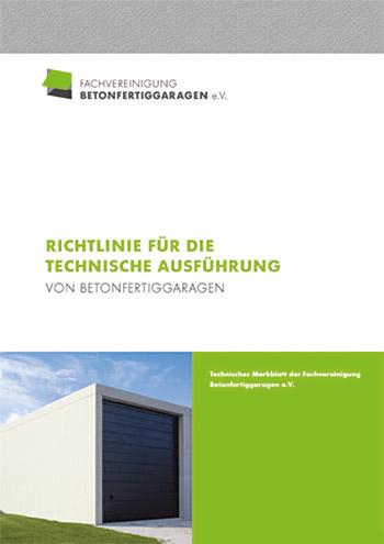 Richtlinien für die technische Ausführung