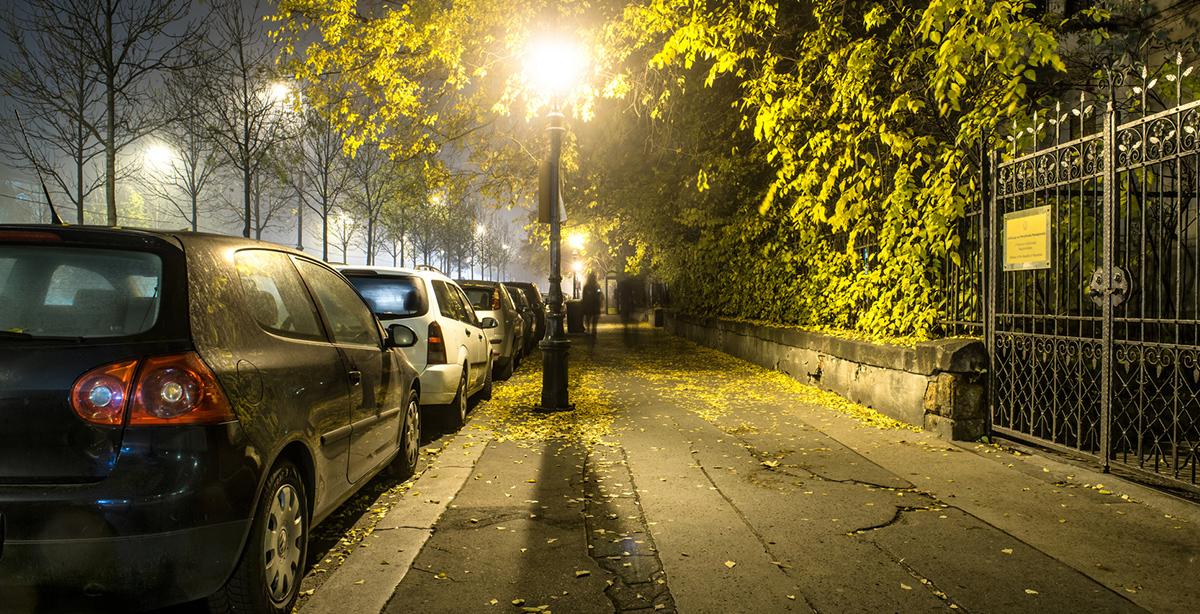 Betonfertiggarage schützt Auto vor Vandalismus