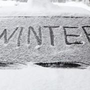 Fertiggarage schützt Auto im Winter