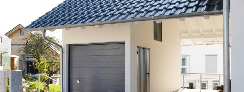 Die Fertiggarage als Hausbauteil