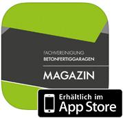 Fachvereinigung Betonfertiggaragen iPad Magazin